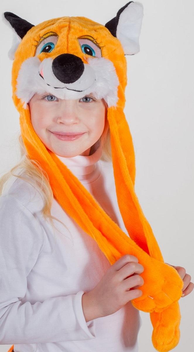 Карнавалия Карнавальный аксессуар для девочки Лисичка цвет оранжевый размер 54 9003090030