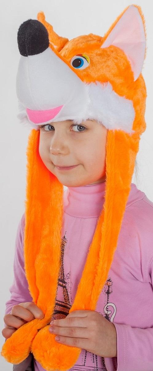 Карнавалия Карнавальный аксессуар для девочки Лисичка цвет оранжевый размер 54 9103091030