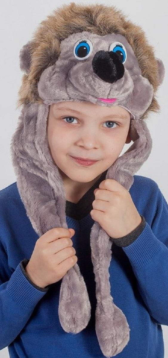 Карнавалия Карнавальный аксессуар для мальчика Ежик цвет серый размер 5491013