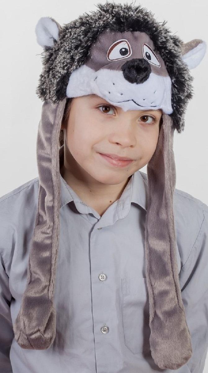 Карнавалия Карнавальный аксессуар для мальчика Ежик цвет серый размер 54 9001390013