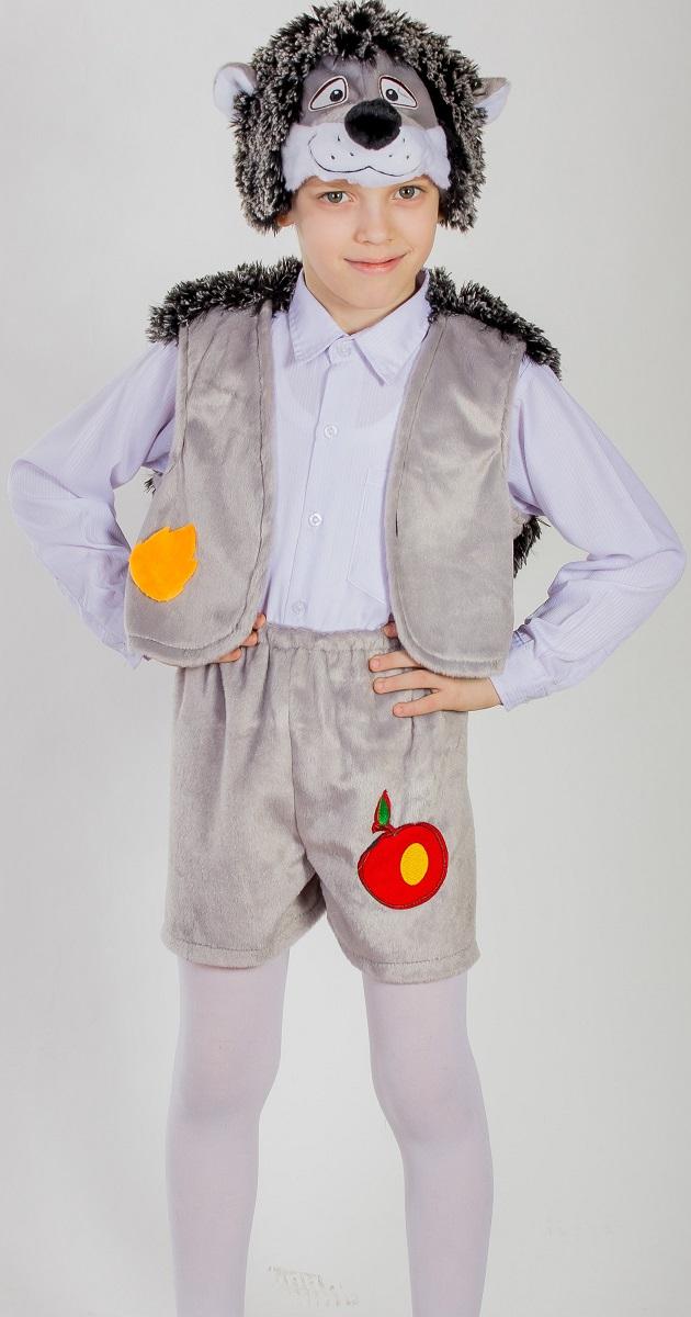 Карнавалия Карнавальный костюм для мальчика Ежик цвет серый размер 3288013
