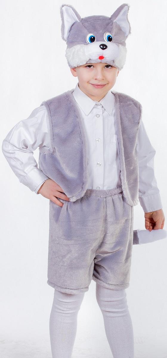 Карнавалия Карнавальный костюм для мальчика Котенок цвет серый размер 12289023