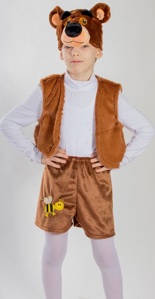 Карнавалия Карнавальный костюм для мальчика Медвежонок цвет коричневый рост 122 8803588035