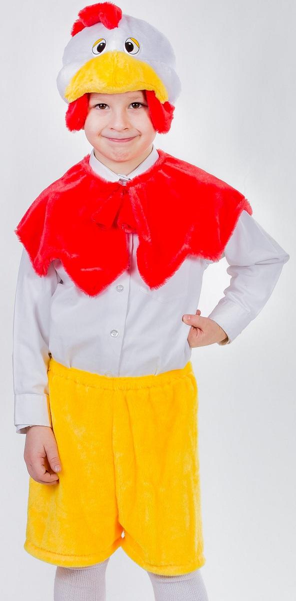 Карнавалия Карнавальный костюм для мальчика Петушок цвет красный желтый размер 3289042