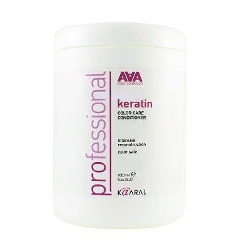 Kaaral Кератиновый кондиционер для восстановления окрашенных и химически обработанных волос AAA Keratin Color Care Conditioner, 1000 млААА1420Инновационный продукт для ухода за окрашенными и химически обработанными волосами. Уникальный состав кондиционера на основе натурального гидролизованного кератина и масла оливы максимально эффективно восстанавливает сухую и пористую структуру волоса как на поверхности, так и изнутри. Микрочастицы гидролизованного кератина, проникая в пористую структуру волоса, восполняют недостаток утраченных протеинов, возвращая волосам гладкость и эластичность. Масло оливы, богатое аминокислотами, интенсивно питает волосы и способствует их естественному восстановлению. Слабокислый уровень pH бережно закрывает кутикулу, предотвращая вымывание цветовых пигментов, что позволяет надолго сохранить блеск и яркость окрашенных волос. Идеально применять в комплексе с Keratin Color Care Shampoo.