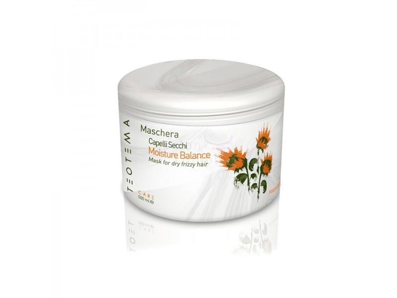 Teotema – Маска увлажняющая 500 млTEO 4703Teotema Маска увлажняющая мощное средство, отлично подходящее для сухих и пушащихся волос, нуждающихся в восстановлении. Глубоко питает пряди, возвращает им здоровый блеск и шелковистость. Активный липидный ингредиент содержит множество минералов, полезных для здоровья волос. Таких как кальций, цинк, фосфор, железо и калийони благотворно влияют на структуру прядей и их корни. Маска содержит и жирные кислоты Омега, в которых особо нуждаются волосы. Входящий в состав комплекс из витаминов различных групп также очень полезен, так как способствует защищенности волос от солнечных лучей или непогоды. Защиту обеспечивают и особые соевые протеины. Увлажняющая маска создает эффект биопленки, заменяет кондиционер и уплотнитель для волос. Данное средствоэто действительно то, что просто необходимо иметь в своей косметичке! Ведь данная маска не только восстанавливает волосы, но и делает их красивее и привлекательнее, упрощает расчесывание и укладку.