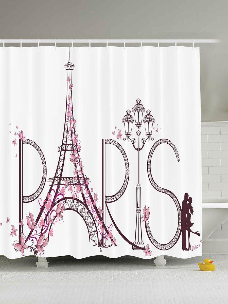 Штора для ванной комнаты Magic Lady Paris is love, 180 х 200 смшв_10526Штора Magic Lady Paris is love, изготовленная из высококачественного сатена (полиэстер 100%), отлично дополнит любой интерьер ванной комнаты. При изготовлении используются специальные гипоаллергенные чернила для прямой печати по ткани, безопасные для человека. В комплекте: 1 штора, 12 крючков. Обращаем ваше внимание, фактический цвет изделия может незначительно отличаться от представленного на фото.