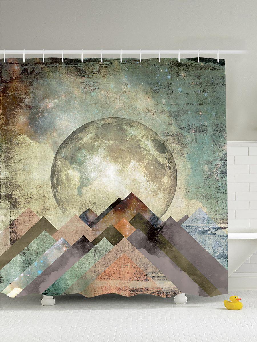 Штора для ванной комнаты Magic Lady Планета над горным хребтом, 180 х 200 смшв_7725Штора Magic Lady Планета над горным хребтом, изготовленная из высококачественного сатена (полиэстер 100%), отлично дополнит любой интерьер ванной комнаты. При изготовлении используются специальные гипоаллергенные чернила для прямой печати по ткани, безопасные для человека. В комплекте: 1 штора, 12 крючков. Обращаем ваше внимание, фактический цвет изделия может незначительно отличаться от представленного на фото.