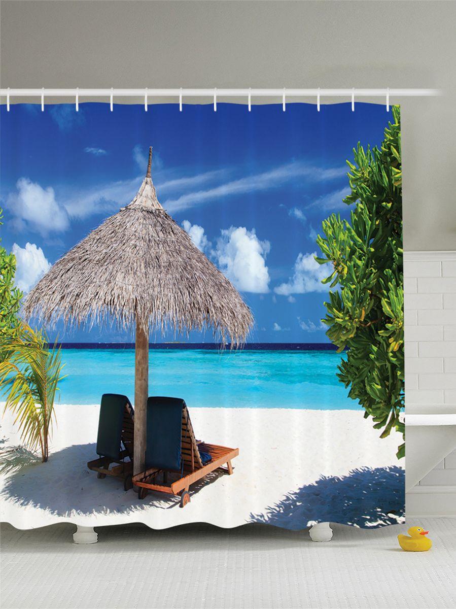 Штора для ванной комнаты Magic Lady Жаркое солнце, 180 х 200 смшв_9380Штора Magic Lady Жаркое солнце, изготовленная из высококачественного сатена (полиэстер 100%), отлично дополнит любой интерьер ванной комнаты. При изготовлении используются специальные гипоаллергенные чернила для прямой печати по ткани, безопасные для человека. В комплекте: 1 штора, 12 крючков. Обращаем ваше внимание, фактический цвет изделия может незначительно отличаться от представленного на фото.