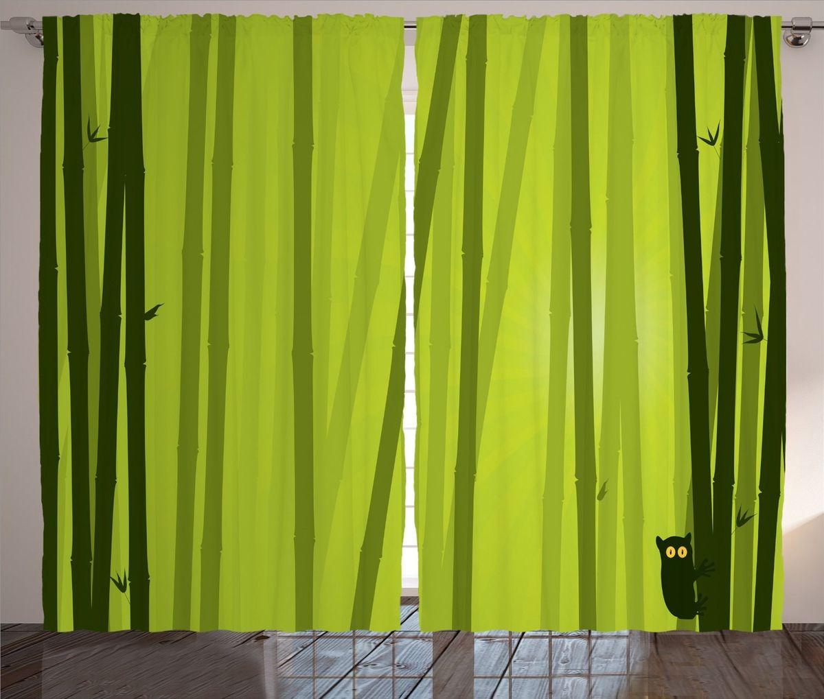 Комплект фотоштор Magic Lady Лемур на стеблях бамбука, на ленте, 290 х 265 смшсг_12185Компания Сэмболь изготавливает шторы из высококачественного сатена (полиэстер 100%). При изготовлении используются специальные гипоаллергенные чернила для прямой печати по ткани, безопасные для человека и животных. Экологичность продукции Magic lady и безопасность для окружающей среды подтверждены сертификатом Oeko-Tex Standard 100. Крепление: крючки для крепления на шторной ленте (50 шт.). Возможно крепление на трубу. Внимание! При нанесении сублимационной печати на ткань технологическим методом при температуре 240 С, возможно отклонение полученных размеров (указанных на этикетке и сайте) от стандартных на + - 3-5 см. Мы стараемся максимально точно передать цвета изделия на наших фотографиях, однако искажения неизбежны и фактический цвет изделия может отличаться от воспринимаемого по фото. Обратите внимание! Шторы изготовлены из полиэстра сатенового переплетения, а не из сатина (хлопок). Размер одного полотна шторы: 145*265 см. В комплекте 2 полотна шторы и 50 крючков.