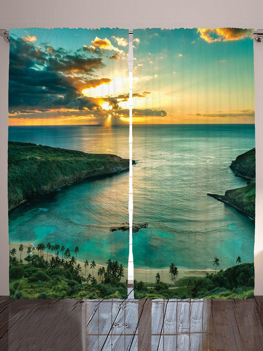 Комплект фотоштор Magic Lady Плавный спуск к океану, на ленте, 290 х 265 смшсг_12295Компания Сэмболь изготавливает шторы из высококачественного сатена (полиэстер 100%). При изготовлении используются специальные гипоаллергенные чернила для прямой печати по ткани, безопасные для человека и животных. Экологичность продукции Magic lady и безопасность для окружающей среды подтверждены сертификатом Oeko-Tex Standard 100. Крепление: крючки для крепления на шторной ленте (50 шт.). Возможно крепление на трубу. Внимание! При нанесении сублимационной печати на ткань технологическим методом при температуре 240 С, возможно отклонение полученных размеров (указанных на этикетке и сайте) от стандартных на + - 3-5 см. Мы стараемся максимально точно передать цвета изделия на наших фотографиях, однако искажения неизбежны и фактический цвет изделия может отличаться от воспринимаемого по фото. Обратите внимание! Шторы изготовлены из полиэстра сатенового переплетения, а не из сатина (хлопок). Размер одного полотна шторы: 145*265 см. В комплекте 2 полотна шторы и 50 крючков.