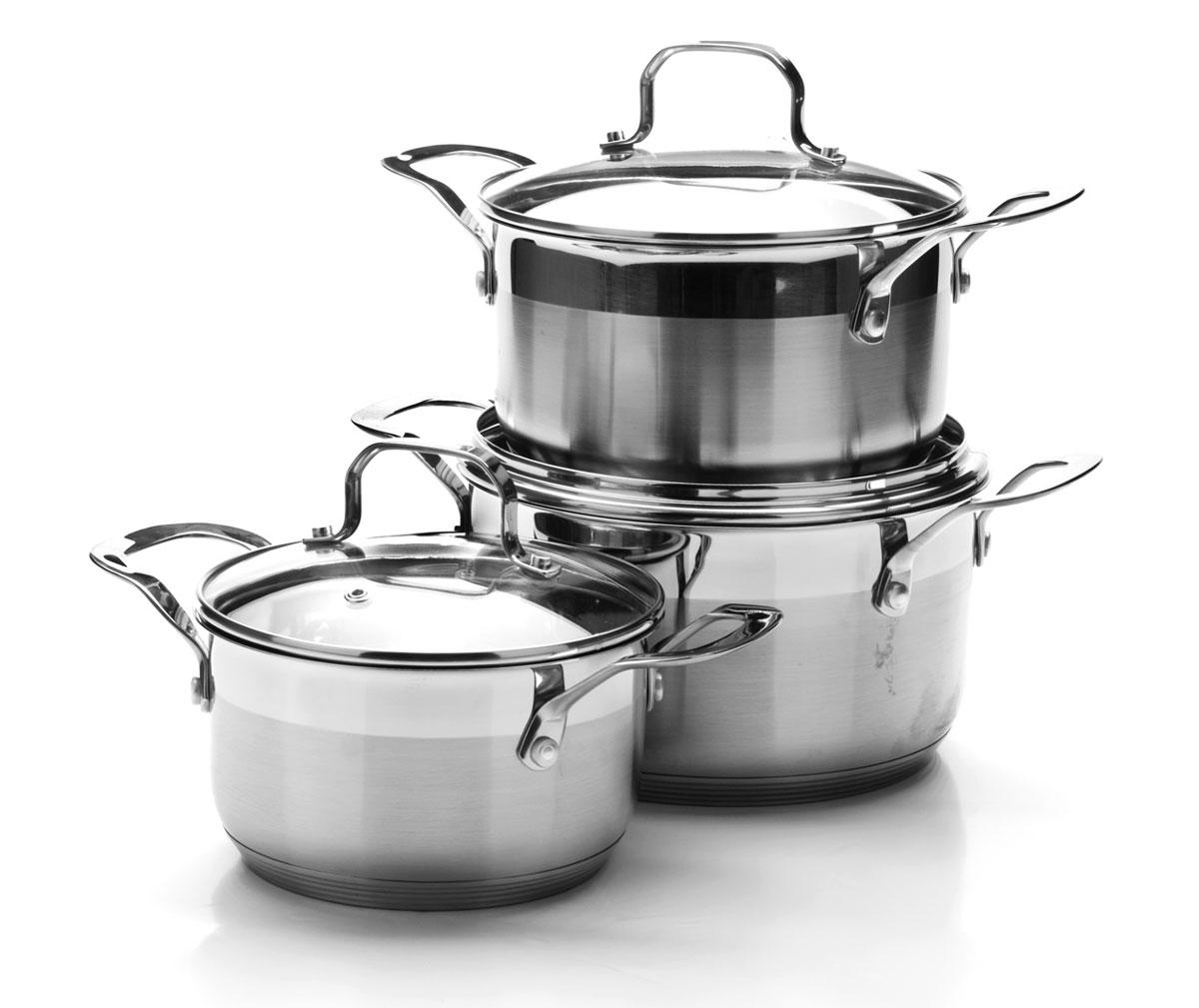 Набор посуды Mayer & Boch, 6 предметов. 25091250911,8+2,5+3,5л