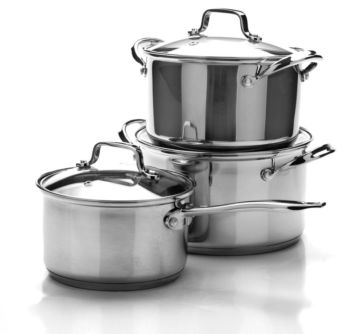 Набор посуды Mayer & Boch, 6 предметов. 25093250932+2,7+3,7л