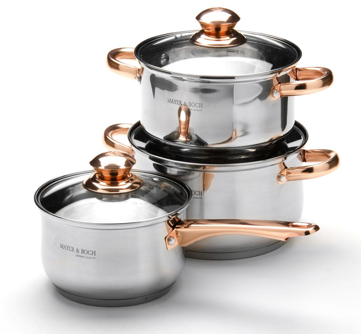 Набор посуды Mayer & Boch, 6 предметов. 25666256662,1+2,9+3,9