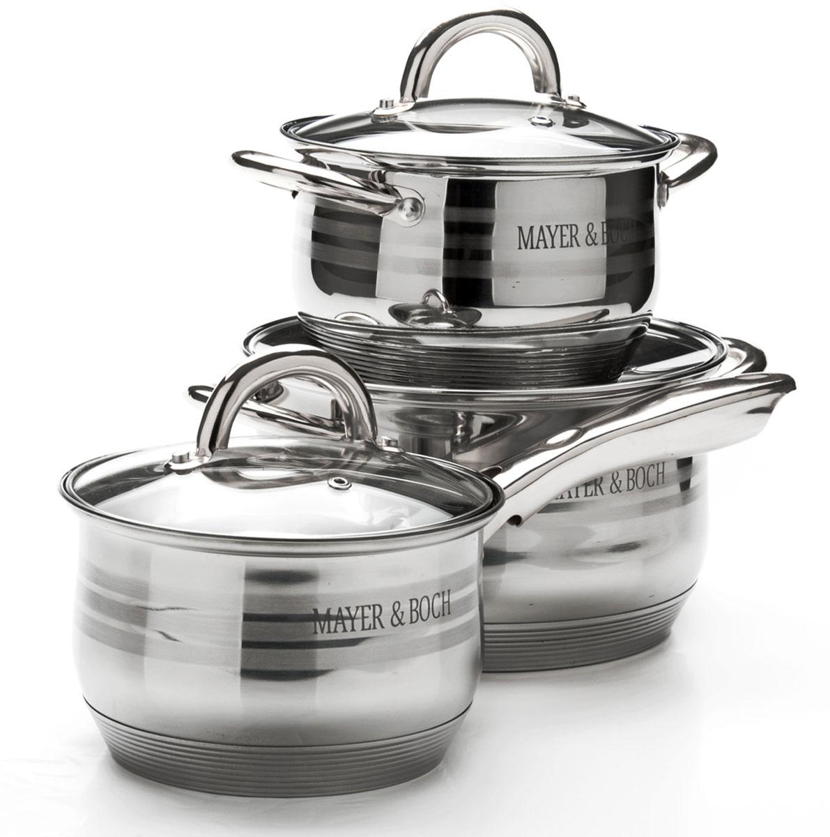 Набор посуды Mayer & Boch, 6 предметов. 25667256672,1+2,1+3,9л