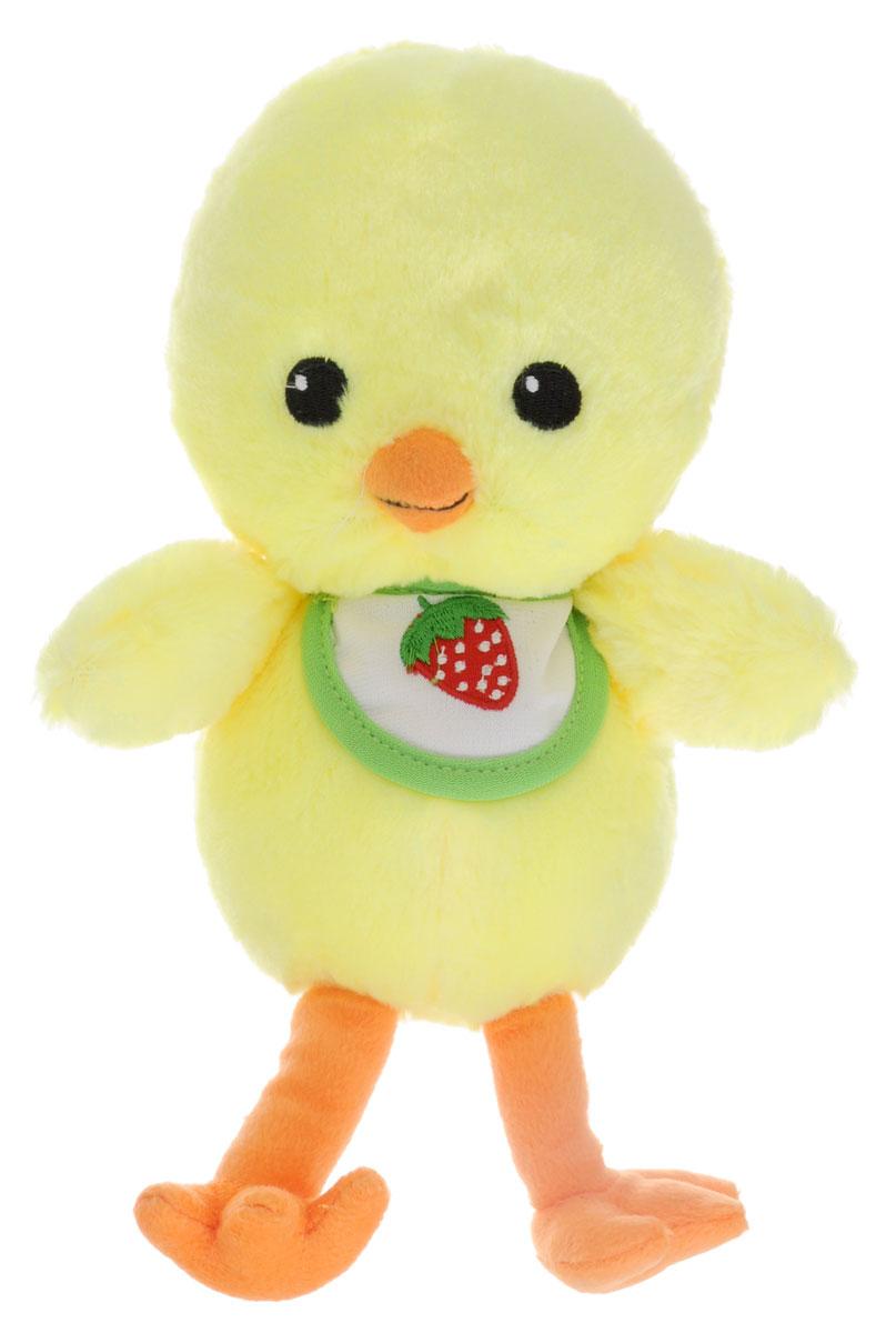 Gulliver Мягкая игрушка Цыпленок Цыпа в нагруднике 20 см66-OT159349_в нагрудникеЗамечательная мягкая игрушка Gulliver Цыпленок Цыпа выполнена в виде желтого цыпленка с нагрудником. Игрушка изготовлена из высококачественного материала и полностью безопасна для ребенка. Удивительно мягкая игрушка принесет радость и подарит своему обладателю мгновения нежных объятий и приятных воспоминаний. Великолепное качество исполнения делают эту игрушку чудесным подарком к любому празднику. Цыпленок (петух, курица) является символом 2017 года! Порадуйте себя и своих близких таким прекрасным символом, приносящим радость и счастье в каждый дом!