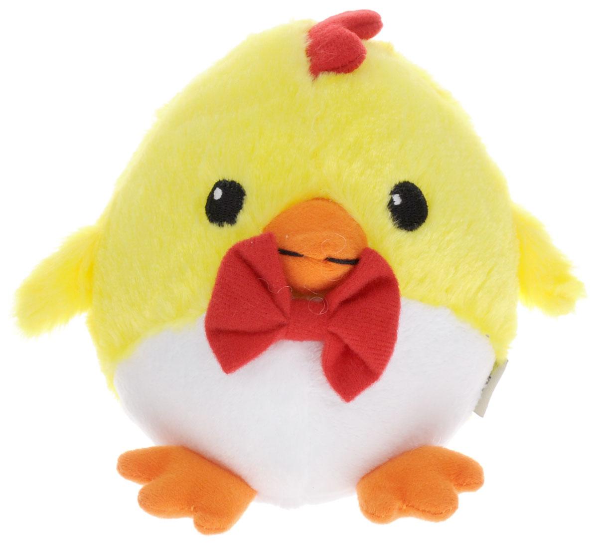 Gulliver Мягкая игрушка Цыпленок Солнышко с бабочкой 12 см66-OT159347-1_с бабочкойОчаровательная мягкая игрушка Gulliver Цыпленок Солнышко выполнена в виде желтого цыпленка небольшого размера с красной бабочкой на шее. Игрушка изготовлена из высококачественного материала и полностью безопасна для ребенка. Удивительно мягкая игрушка принесет радость и подарит своему обладателю мгновения нежных объятий и приятных воспоминаний. В процессе игры у крохи будет развиваться зрительная память, фантазия, логическое и образное мышление, ребенок научится сосредотачиваться на одном предмете, быть усидчивым и внимательным. Цыпленок (петух, курица) является символом 2017 года! Порадуйте себя и своих близких таким прекрасным символом, приносящим радость и счастье в каждый дом!