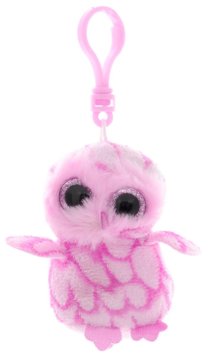 TY Мягкая игрушка-брелок Совенок Pinky36594Мягкая игрушка-брелок TY Совенок Pinky всегда будет с вами! С помощью пластикового карабина игрушку можно пристегнуть на пояс, к рюкзаку, сумке или повесить на связку ключей. Удивительно мягкая игрушка-брелок выполнена в виде забавной розовой совы с большими блестящими глазками. Это отличный подарок как для детей, так и для взрослых!