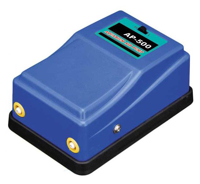 Воздушный компрессор Barbus Синий Чемпион, 2 канала по 4 л/м, 5 ВтAP-500Воздушный компрессор СИНИЙ ЧЕМПИОН ( 2 канала по 4 л/м , 5 Ватт )