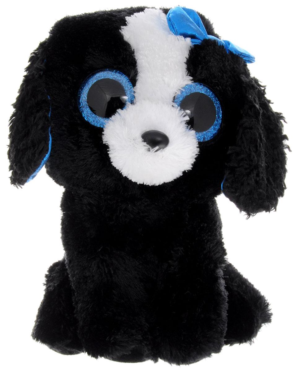 TY Мягкая игрушка Щенок Tracey 20 см37076Очаровательная мягкая игрушка TY Щенок Tracey изготовлена из нетоксичных экологически чистых материалов. Любая современная игрушка - это больше, чем просто способ увлечь малыша. Большие сверкающие глазки выполнены из пластика. Щенок обладает мягкой шерсткой, выполненной из текстильных материалов. Специальные гранулы, используемые при набивке, способствуют развитию мелкой моторики рук малыша. Удивительно мягкая игрушка принесет радость и подарит своему обладателю мгновения нежных объятий и приятных воспоминаний. Великолепное качество исполнения делают эту игрушку чудесным подарком к любому празднику. Трогательная и симпатичная, она непременно вызовет улыбку у детей и взрослых.