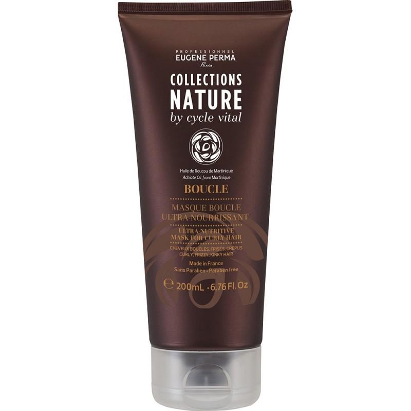Eugene Perma Cycle Vital Nature Masque Boucle Ultra Nourrissant - Маска ультра-питательная для вьющихся волос 200 мл21033011Интенсивно питает волосы. Разглаживает кутикулу. Придает мягкость и блеск.