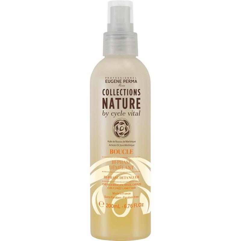 Eugene Perma Cycle Vital Nature Bi-phase Demelant - Лосьон, распутывающий Би-фаза 200 мл21033012Превосходный продукт для ежедневного ухода. Придает волосам мягкость и блеск. Не утяжеляет. Не смывается.