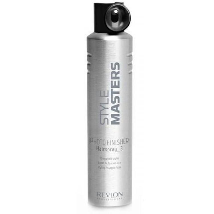 Revlon Professional SM Hairspray Photo Finisher - Лак сильной фиксации 500 мл7207041000Нередко в нашей жизни происходят события, которые требуют от нас идеального внешнего вида: эффектного макияжа, стильной одежды, безупречной причёски, за которой не требуется ухаживать в течение дня. Лак сильной фиксации Hairspray Photo Finisher от Revlon Professional поможет вашей укладке сохранить свой потрясающий внешний вид на целый день. Этот продукт для укладки из серии Style Masters оснащён специальным аппликатором, облегчающим нанесение на волосы. Благодаря этому, вы можете равномерно распределять лак по всей причёске. «Хэйрспрей Фото Финишер» обеспечивает мгновенную фиксацию надолго. Средство легко удаляется, не оставляя следов.