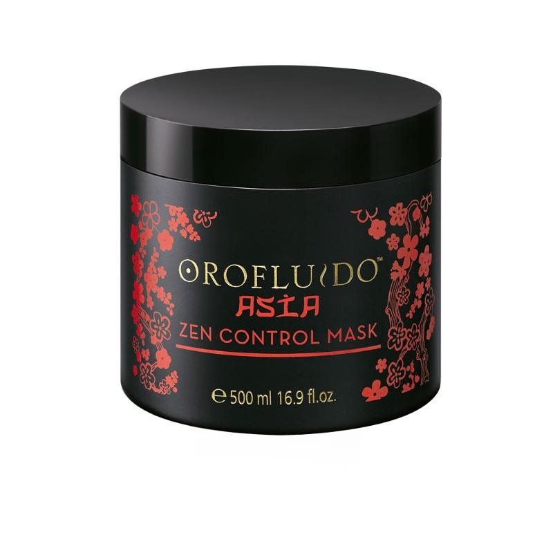 Orofluido Asia Spa Zen Control Mask - Маска для контроля непослушных волос 500 мл