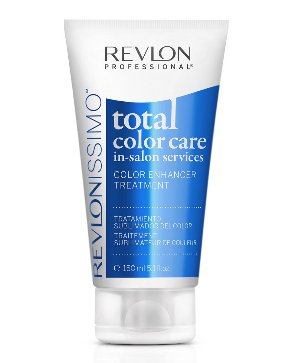 Revlon Professional Revlonissimo Total Color Care Treatment - Маска-усилитель анти-вымывание цвета 150 мл7221196000Профессиональный салонный уход, который хорошо закрывает кутикулу волос и препятствует потери цветового нюанса, придавая волосам блеск и сияние. Защита от вымывания - содержит пленкообразующий полимер, который защищает окрашенные волосы от потери и вымывания пигмента красителя. Антиоксидантный эффект - клюква содержит антиоксиданты, которые помогают блокировать действие свободных радикалов и предотвратить окисление пигментов после процедуры окрашивания. Уход и восстановление - провитамин В5 укрепляет структуру волосяного волокна и увлажняет волосы. Придает волосам эластичность, предотвращает ломкость, которая может произойти при расчесывании волос.