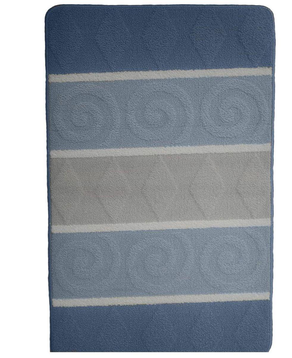 Коврик для ванной Kamalak Tekstil, цвет: серый, 60 x 100 см. УКВ-1003УКВ-1003Ковры-паласы выполнены из полипропилена. Ковры обладают хорошими показателями теплостойкости и шумоизоляции. Являются гиппоалергенными. За счет невысокого ворса ковры легко чистить. Вам придется по душе широкая гамма цветов и возможность гармонично оформить интерьер. Практичный и устойчивый к износу ворс - от постоянного хождения не истирается, не накапливает статическое электричество. Структура волокна в полипропиленовых моделях гладкая, поэтому грязь не может выесться, на ворсе она скапливается с трудом. Полипропилен не впитывает влагу, отталкивает водянистые пятна. Уход: Самый простой способ избавить изделие от грязи – пропылесосить его с обеих сторон (лицевой и изнаночной). Влажная уборка с применением шампуней и моющих средств не противопоказана. Если шерсти и шёлку универсальные чистящие составы не подходят, то для синтетики они придутся в самый раз. Хранить их нужно рулоном, не складывая «салфеткой». При надлежащем уходе синтетический ковёр прослужит долго, не утратив ни...