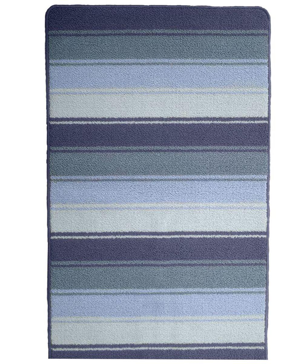 Коврик для ванной Kamalak Tekstil, цвет: серый, 60 x 100 см. УКВ-1005УКВ-1005Ковры-паласы выполнены из полипропилена. Ковры обладают хорошими показателями теплостойкости и шумоизоляции. Являются гиппоалергенными. За счет невысокого ворса ковры легко чистить. Вам придется по душе широкая гамма цветов и возможность гармонично оформить интерьер. Практичный и устойчивый к износу ворс - от постоянного хождения не истирается, не накапливает статическое электричество. Структура волокна в полипропиленовых моделях гладкая, поэтому грязь не может выесться, на ворсе она скапливается с трудом. Полипропилен не впитывает влагу, отталкивает водянистые пятна. Уход: Самый простой способ избавить изделие от грязи – пропылесосить его с обеих сторон (лицевой и изнаночной). Влажная уборка с применением шампуней и моющих средств не противопоказана. Если шерсти и шёлку универсальные чистящие составы не подходят, то для синтетики они придутся в самый раз. Хранить их нужно рулоном, не складывая «салфеткой». При надлежащем уходе синтетический ковёр прослужит долго, не утратив ни...