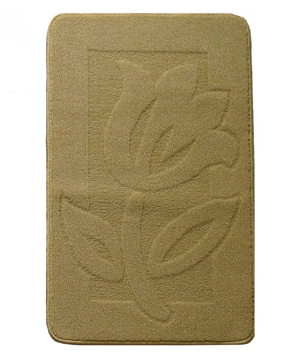 Коврик для ванной Kamalak Tekstil, цвет: коричневый, 60 x 100 см. УКВ-1010УКВ-1010Ковры-паласы выполнены из полипропилена. Ковры обладают хорошими показателями теплостойкости и шумоизоляции. Являются гиппоалергенными. За счет невысокого ворса ковры легко чистить. Вам придется по душе широкая гамма цветов и возможность гармонично оформить интерьер. Практичный и устойчивый к износу ворс - от постоянного хождения не истирается, не накапливает статическое электричество. Структура волокна в полипропиленовых моделях гладкая, поэтому грязь не может выесться, на ворсе она скапливается с трудом. Полипропилен не впитывает влагу, отталкивает водянистые пятна. Уход: Самый простой способ избавить изделие от грязи – пропылесосить его с обеих сторон (лицевой и изнаночной). Влажная уборка с применением шампуней и моющих средств не противопоказана. Если шерсти и шёлку универсальные чистящие составы не подходят, то для синтетики они придутся в самый раз. Хранить их нужно рулоном, не складывая «салфеткой». При надлежащем уходе синтетический ковёр прослужит долго, не утратив ни...