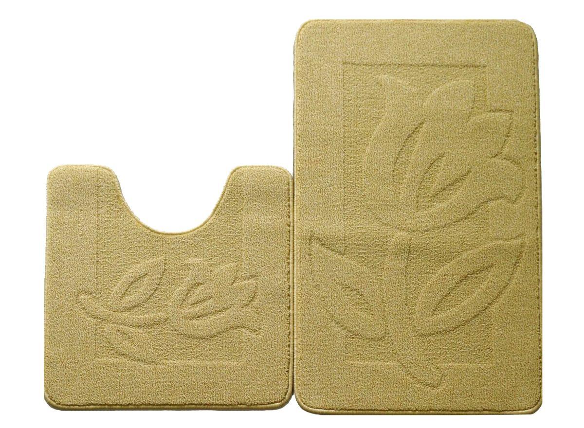Набор ковриков для ванной комнаты Kamalak Tekstil, цвет: желтый, 2 штУКВ-1029Ковры-паласы выполнены из полипропилена. Ковры обладают хорошими показателями теплостойкости и шумоизоляции. Являются гиппоалергенными. За счет невысокого ворса ковры легко чистить. Вам придется по душе широкая гамма цветов и возможность гармонично оформить интерьер. Практичный и устойчивый к износу ворс - от постоянного хождения не истирается, не накапливает статическое электричество. Структура волокна в полипропиленовых моделях гладкая, поэтому грязь не может выесться, на ворсе она скапливается с трудом. Полипропилен не впитывает влагу, отталкивает водянистые пятна. Уход: Самый простой способ избавить изделие от грязи – пропылесосить его с обеих сторон (лицевой и изнаночной). Влажная уборка с применением шампуней и моющих средств не противопоказана. Если шерсти и шёлку универсальные чистящие составы не подходят, то для синтетики они придутся в самый раз. Хранить их нужно рулоном, не складывая «салфеткой». При надлежащем уходе синтетический ковёр прослужит долго, не утратив ни...