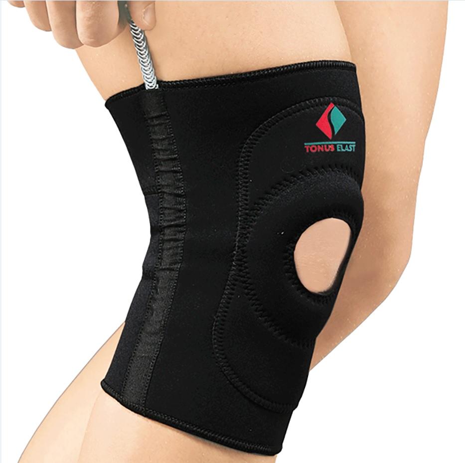 Повязка Tonus Elast для фиксации коленного сустава c пружинными вставками. 9903-01. Размер 4