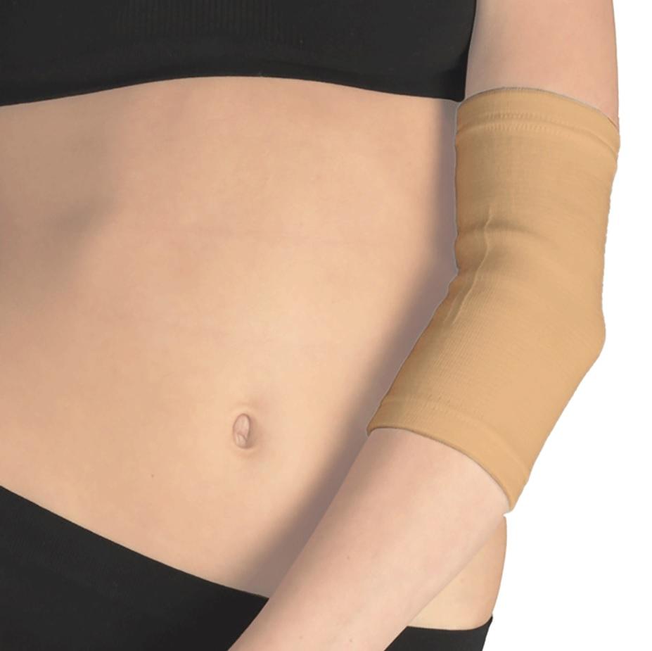 Бинт (фиксатор) Tonus Elast медицинский эластичный трубчатый для локтевого сустава. 9605-01. Размер 4