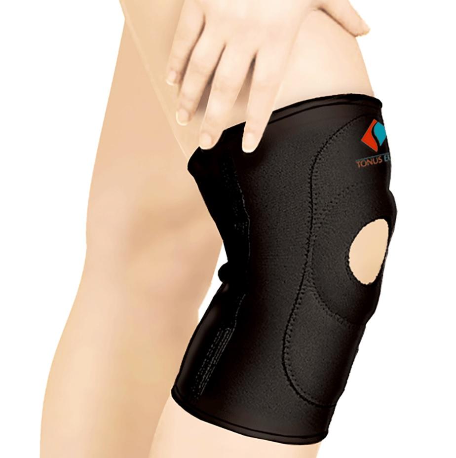 Повязка Tonus Elast для фиксации коленного сустава c открытой чашечкой. 9903. Размер 4