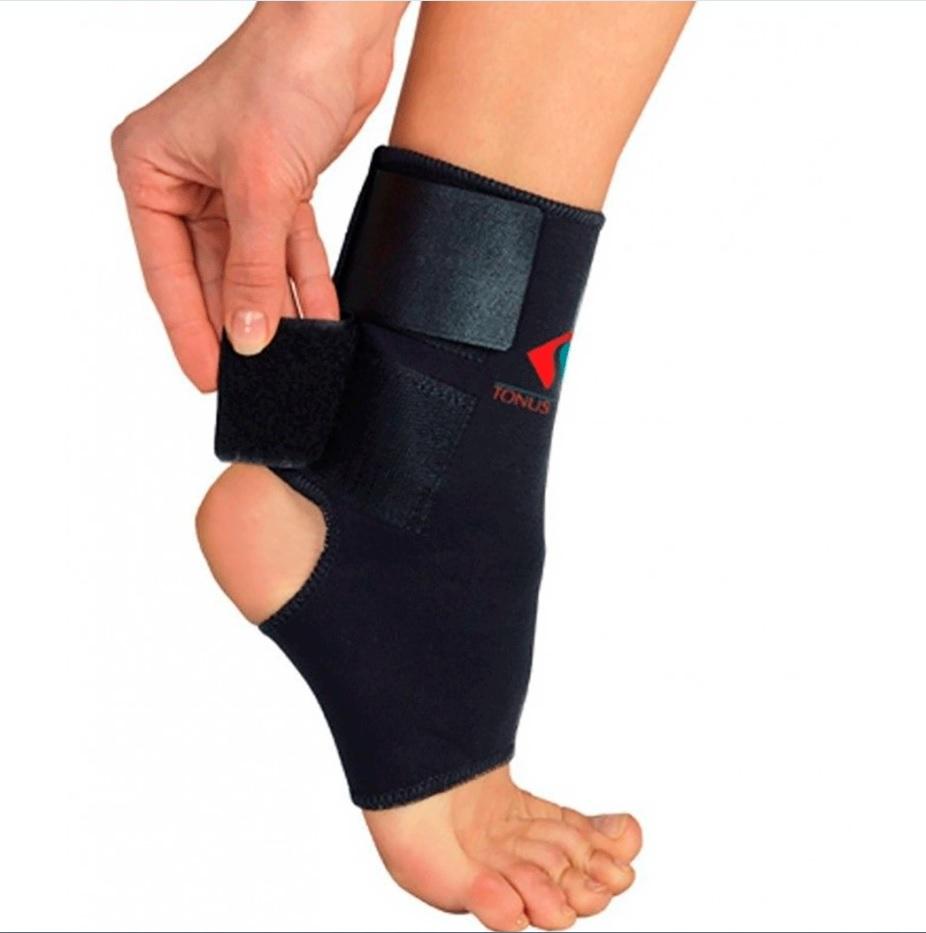 Повязка Tonus Elast для фиксации голеностопного сустава. 0310. Размер 4