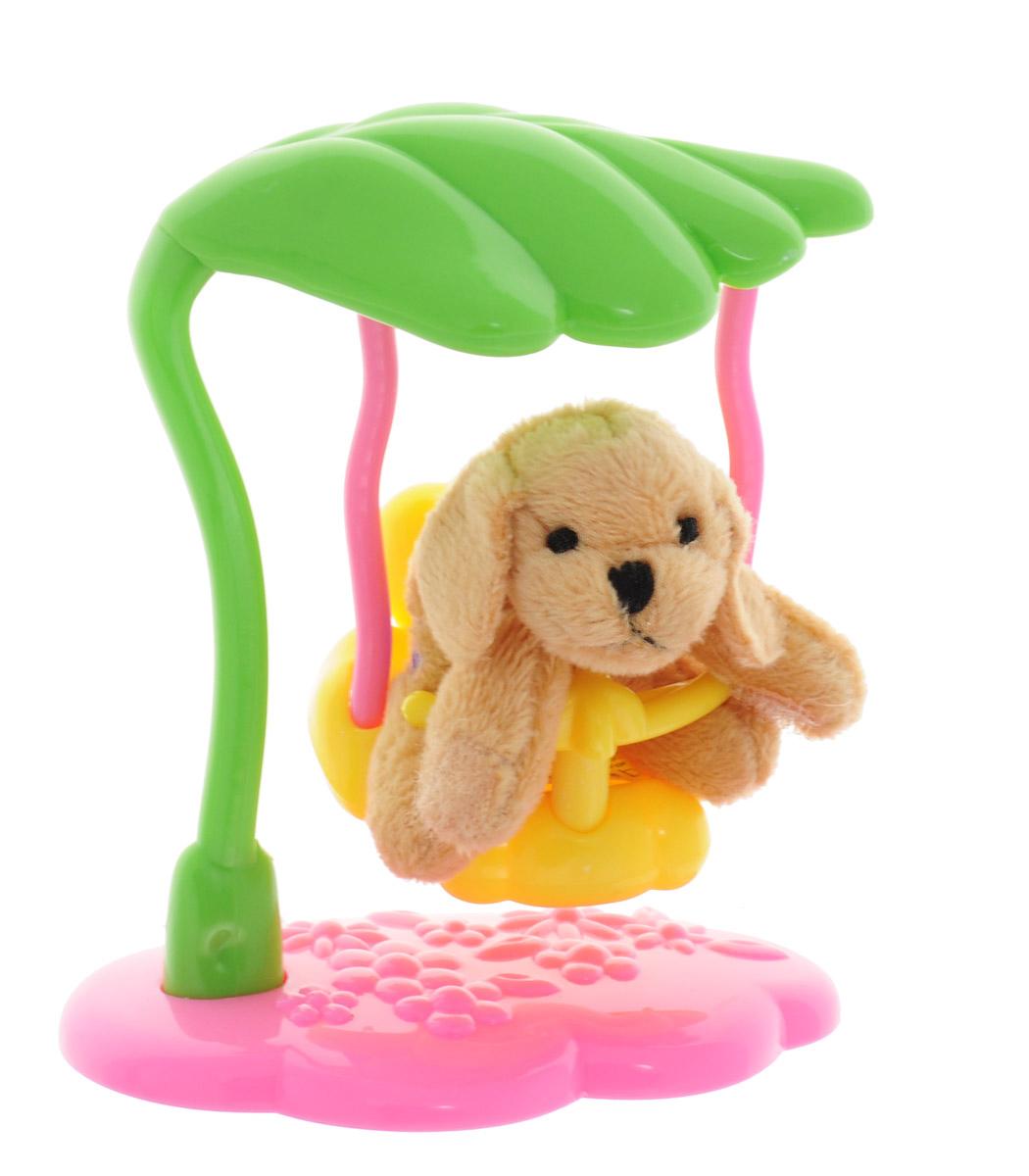 Beanzees Мягкая игрушка Собачка Dash 5 смB32021Очаровательная мягкая игрушка Beanzees Собачка Dash подарит своей владелице море позитивных эмоций. Собачку можно раскачивать на качелях, или играть с ней отдельно. Мягкие игрушки Beanzees - крошечные плюшевые животные. С помощью липучек на лапках зверюшек можно скреплять игрушки в браслеты и ожерелья или просто украсить комнату гирляндой из них. Животики фигурок заполнены гранулами, что делает их очень приятными на ощупь, развивает тактильные ощущения и помогает снять эмоциональное напряжение!