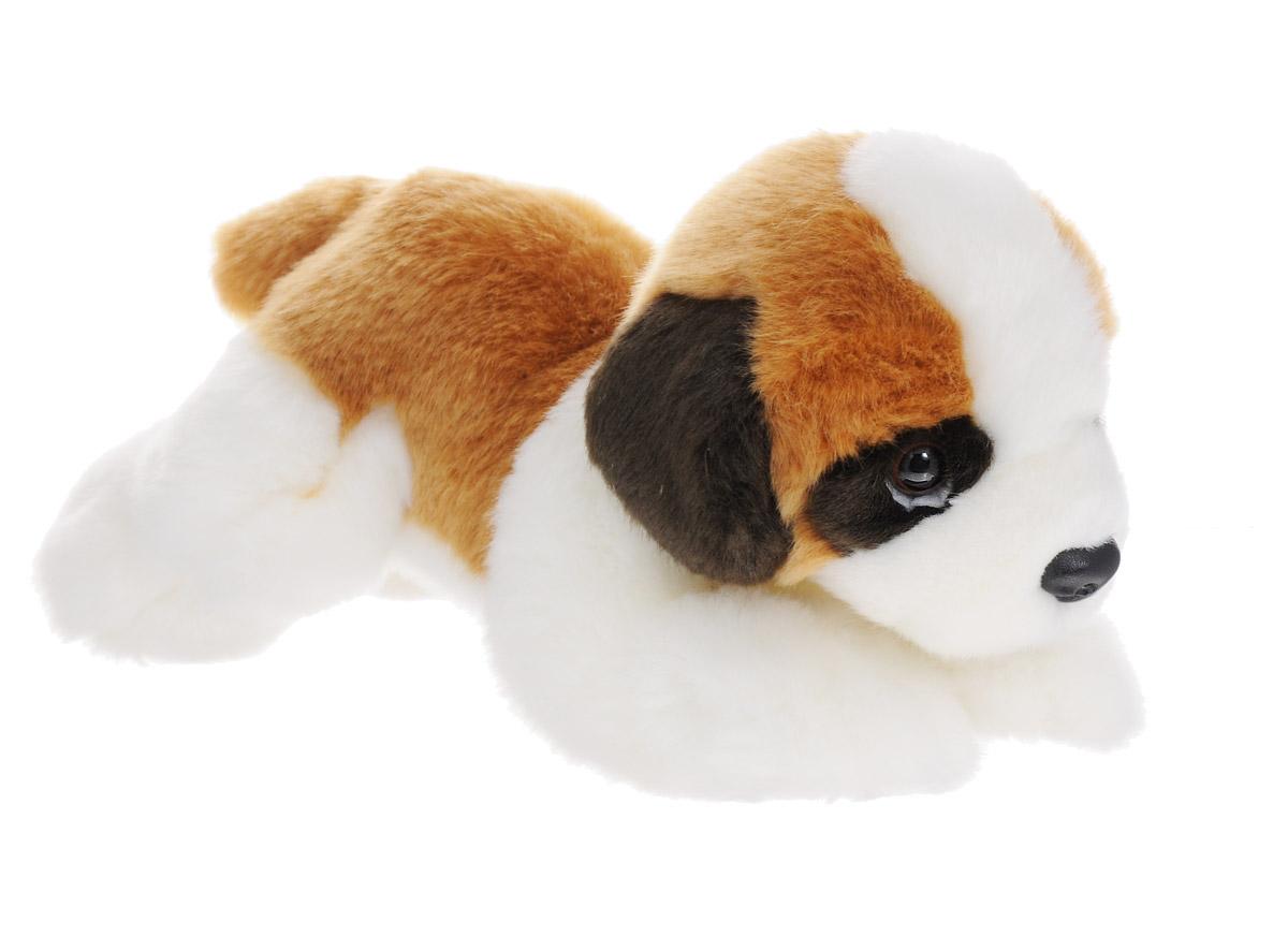 Soya Мягкая игрушка Щенок породы сенбернар 23 см2127-4Мягкая игрушка, изображающая милейшего щенка породы сенбернар, выглядит необычайно привлекательно. На мордочке плюшевого щенка имеется выражение невероятной преданности и легкой печали, свойственное собакам этой породы. Эта игрушка может стать отличным другом для каждого - ее мягкость и общий потешный вид понравятся абсолютно всем. Мягкие игрушки знакомят с животным миром нашей планеты, формируют цветовосприятие и способствуют концентрации внимания.