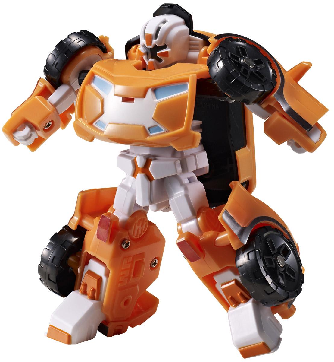 Tobot Трансформер Mini X301020Трансформер Tobot Mini X из мультсериала Тоботы - лидер. Он очень сильный. Популярен из-за своего стойкого характера. Игрушка в точности повторяет героя, поэтому поможет преданным поклонникам разыграть увлекательные приключения не только в образе робота, но и быстрой машинки с рельефными колесами. Трансформер легко превращается в реалистичную машинку. Машинка может ездить по поверхности благодаря широким колесам с рельефными протекторами. Игрушка имеет оптимальные размеры, поэтому ребенку будет удобно держать ее в руке и катать по полу.
