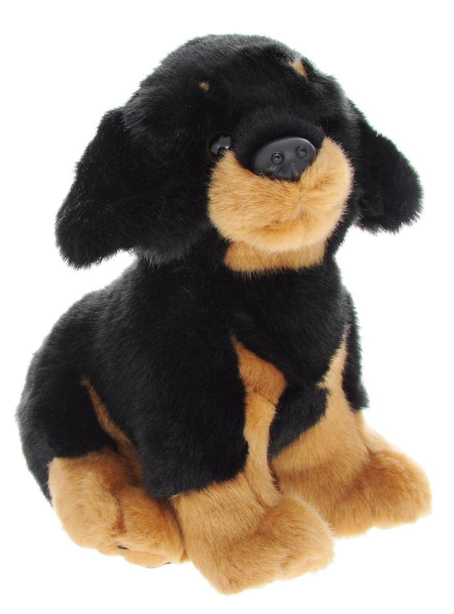 Soya Мягкая игрушка Щенок породы ротвейлер 17 см