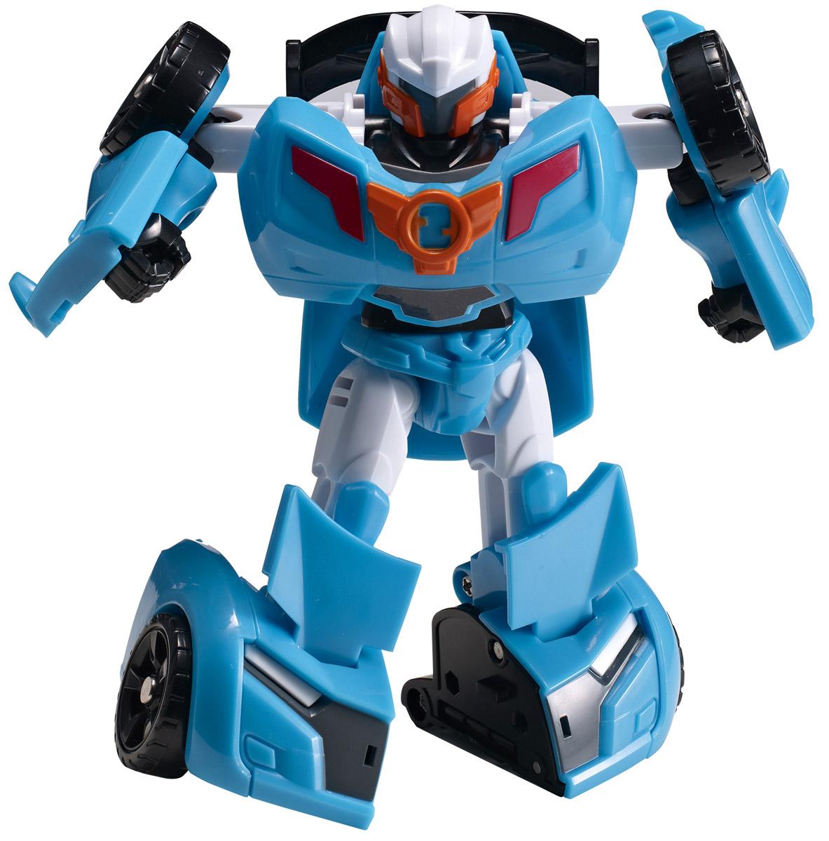 Tobot Трансформер Mini Y301021Трансформер Tobot Mini Y из мультсериала Тоботы запомнился детям своим озорным нравом и легким характером. Игрушка в точности повторяет героя, поэтому поможет преданным поклонникам разыграть увлекательные приключения не только в образе робота, но и быстрой машинки с рельефными колесами. Трансформер легко превращается в реалистичную машинку. Машинка может ездить по поверхности благодаря широким колесам с рельефными протекторами. Игрушка имеет оптимальные размеры, поэтому ребенку будет удобно держать ее в руке и катать по полу.