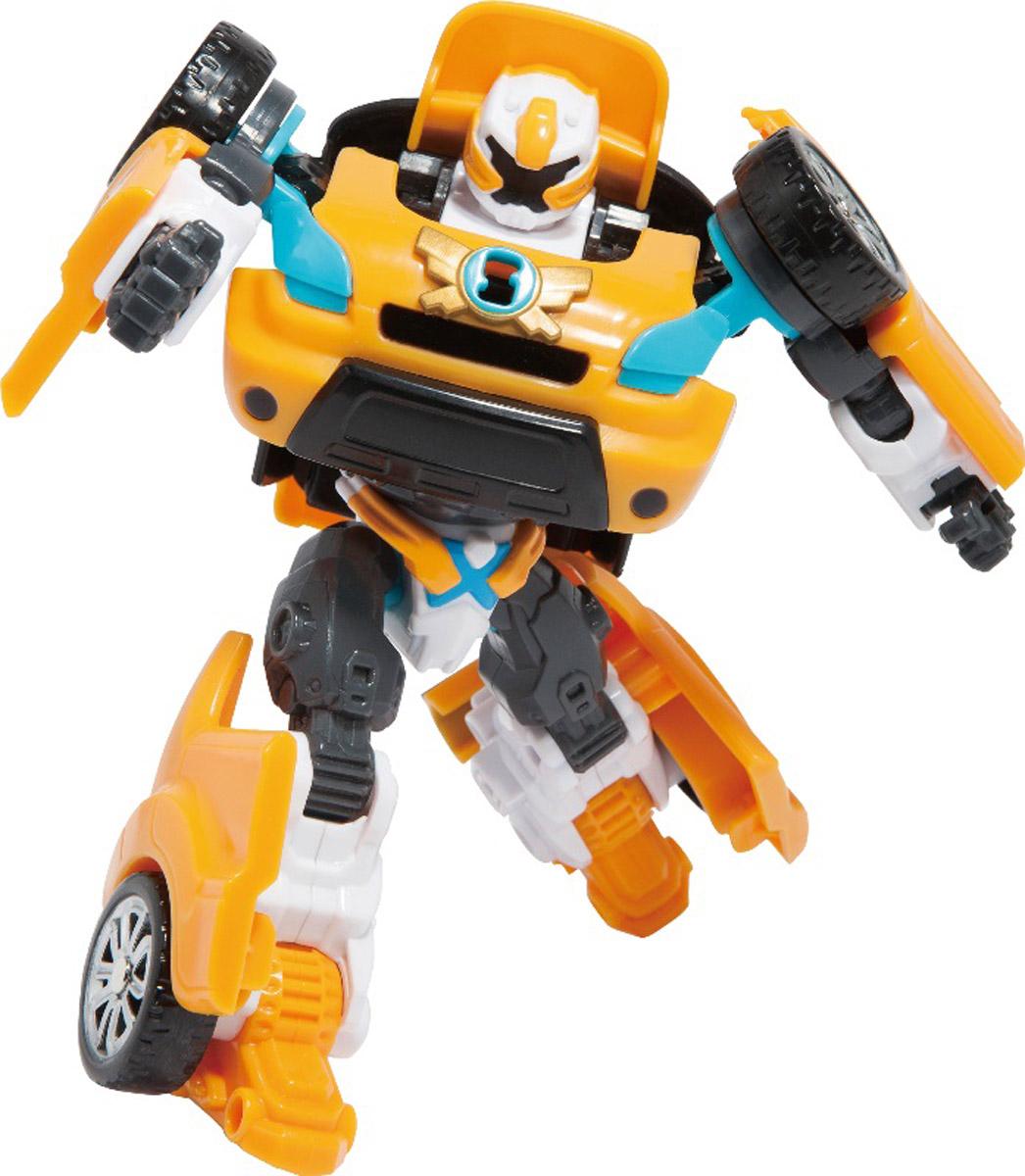 Tobot Трансформер Х301001Трансформер Tobot X из мультсериала Тоботы - лидер. Он очень сильный. Популярен из-за своего стойкого характера. Игрушка в точности повторяет героя, поэтому поможет преданным поклонникам разыграть увлекательные приключения не только в образе робота, но и быстрой машинки с рельефными колесами. Трансформер легко превращается в реалистичную машинку. Машинка может ездить по поверхности благодаря широким колесам с рельефными протекторами. Игрушка имеет оптимальные размеры, поэтому ребенку будет удобно держать ее в руке и катать по полу. В комплекте также идет ключ. Уровень сложности: 2.