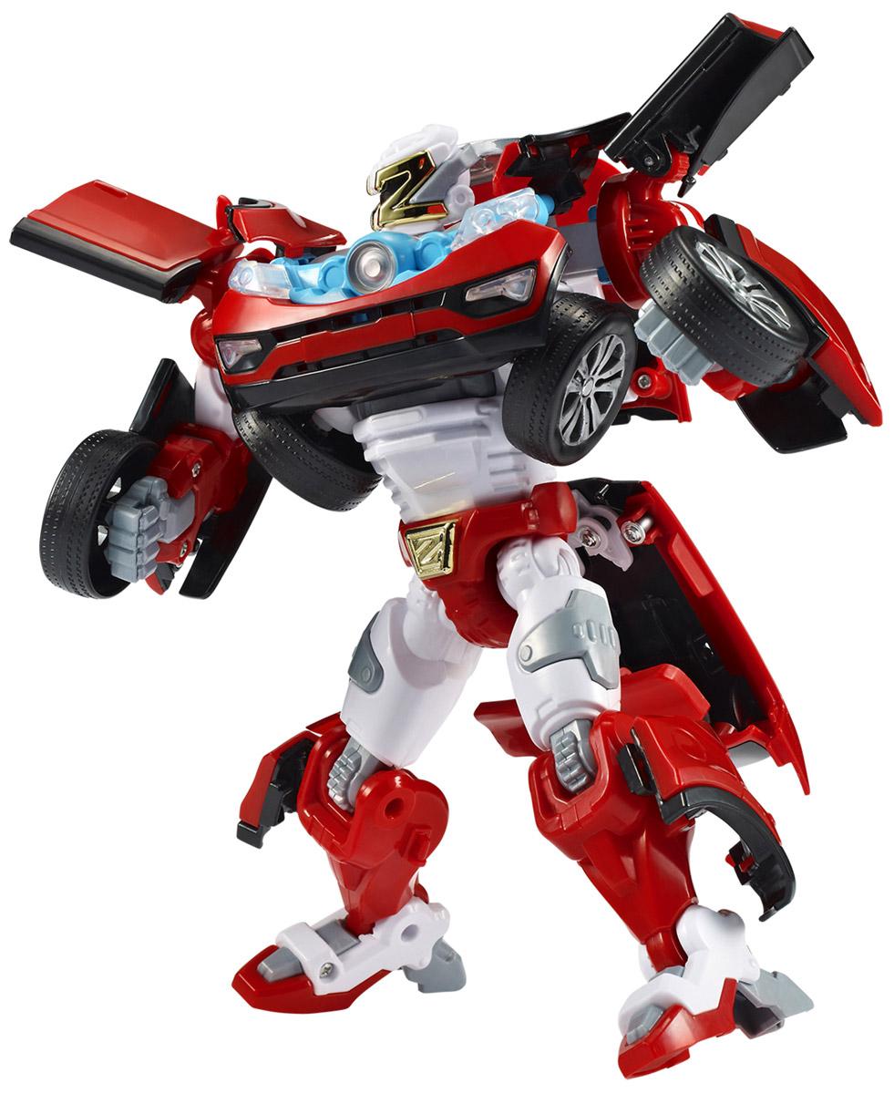 Tobot Трансформер Z301005Трансформер Tobot Z создан по мотивам мультсериала Тоботы Игрушка в точности повторяет героя, поэтому поможет преданным поклонникам разыграть увлекательные приключения не только в образе робота, но и быстрой машинки с рельефными колесами. Трансформер легко превращается в реалистичную машинку. Машинка может ездить по поверхности благодаря широким колесам с рельефными протекторами. Игрушка имеет оптимальные размеры, поэтому ребенку будет удобно держать ее в руках и катать по полу. В комплекте также: ключ, часы, фишки. Уровень сложности: 2.
