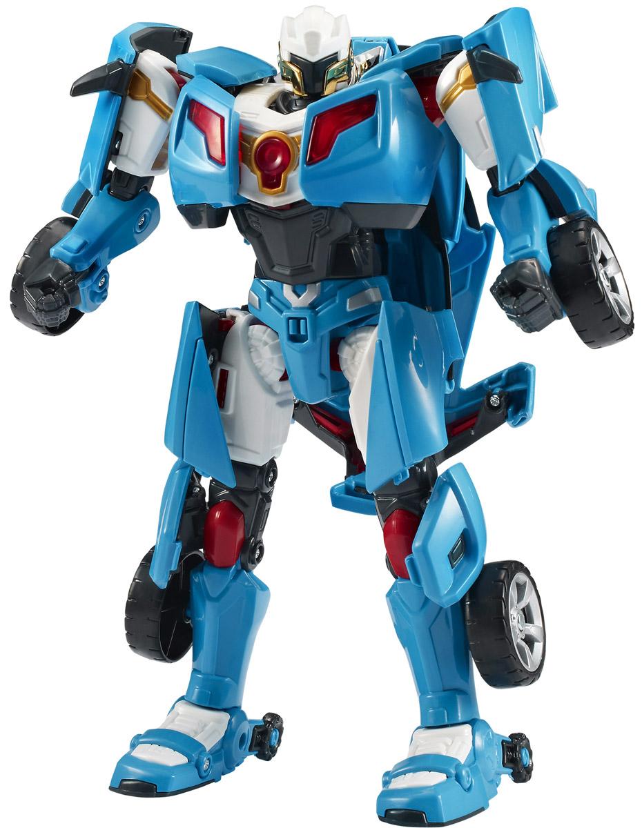 Tobot Трансформер Эволюция Y301010Трансформер Tobot Эволюция Y из мультсериала Тоботы является улучшенной версией трансформера Y. Этот робот запомнился детям своим озорным нравом и легким характером. Игрушка в точности повторяет героя, поэтому поможет преданным поклонникам разыграть увлекательные приключения не только в образе робота, но и быстрой машинки голубого цвета. Трансформер легко превращается в реалистичную машинку. Машинка может ездить по поверхности благодаря широким колесам с рельефными протекторами. Игрушка имеет оптимальные размеры, поэтому ребенку будет удобно держать ее в руке и катать по полу. В комплекте с трансформером имеются наклейки и ключ. Уровень сложности: 2.