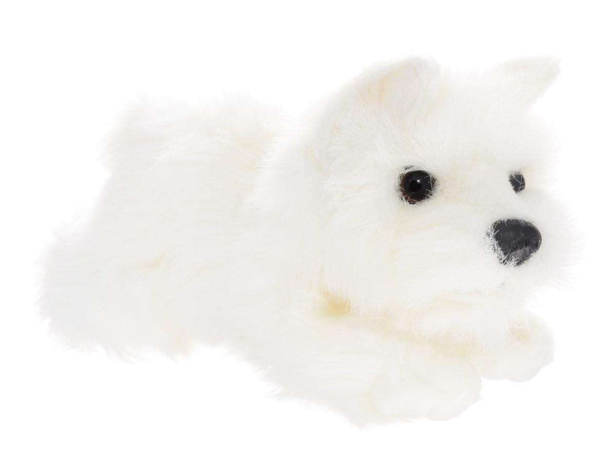 Soya Мягкая игрушка Щенок породы белый терьер 23 см