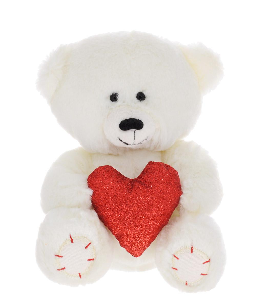 Lava Мягкая озвученная игрушка Медвежонок Масик с сердцем 16 смLA 8546EМягкая озвученная игрушка Lava Медвежонок Масик вызовет умиление и улыбку у каждого, кто ее увидит. Игрушка выполнена в виде милого мишки коричневого цвета, держащего в лапах подсолнух. Игрушка изготовлена из мягкого, приятного на ощупь искусственного меха и текстиля. Нажав на живот мишки, вы услышите очаровательное признание в любви. Удивительно мягкая игрушка принесет радость и подарит своему обладателю мгновения нежных объятий и приятных воспоминаний. Великолепное качество исполнения делают эту игрушку чудесным подарком к любому празднику. Игрушка работает от незаменяемых батареек. Мягкие игрушки торговой марки Lava станут достойным выбором для вашего ребенка!