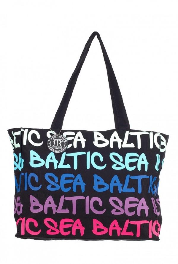 Сумка женская Robin Ruth Baltic Sea, цвет: черный, мультиколор. BG2640-BBG2640-BЖенская сумка Robin Ruth Baltic Sea изготовлена из текстиля. Изделие содержит одно основное отделение, закрывающееся на застежку-молнию. Модель оформлена яркими надписями. Стильная сумка позволит вам подчеркнуть свою индивидуальность, а также сделает ваш образ завершенным.