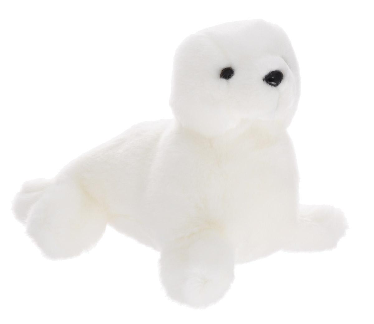 Soya Мягкая игрушка Тюлень 15 см2130-6WМягкая игрушка Soya Тюлень будет отличным подарком для ребенка, который любит животных. Любая современная игрушка - это больше, чем просто способ увлечь малыша. Игрушка выполнена из приятного на ощупь материала в виде белого тюленя. Удивительно мягкая игрушка принесет радость и подарит своему обладателю мгновения нежных объятий и приятных воспоминаний. Мягкие игрушки знакомят с животным миром нашей планеты, формируют цветовосприятие и способствуют концентрации внимания.