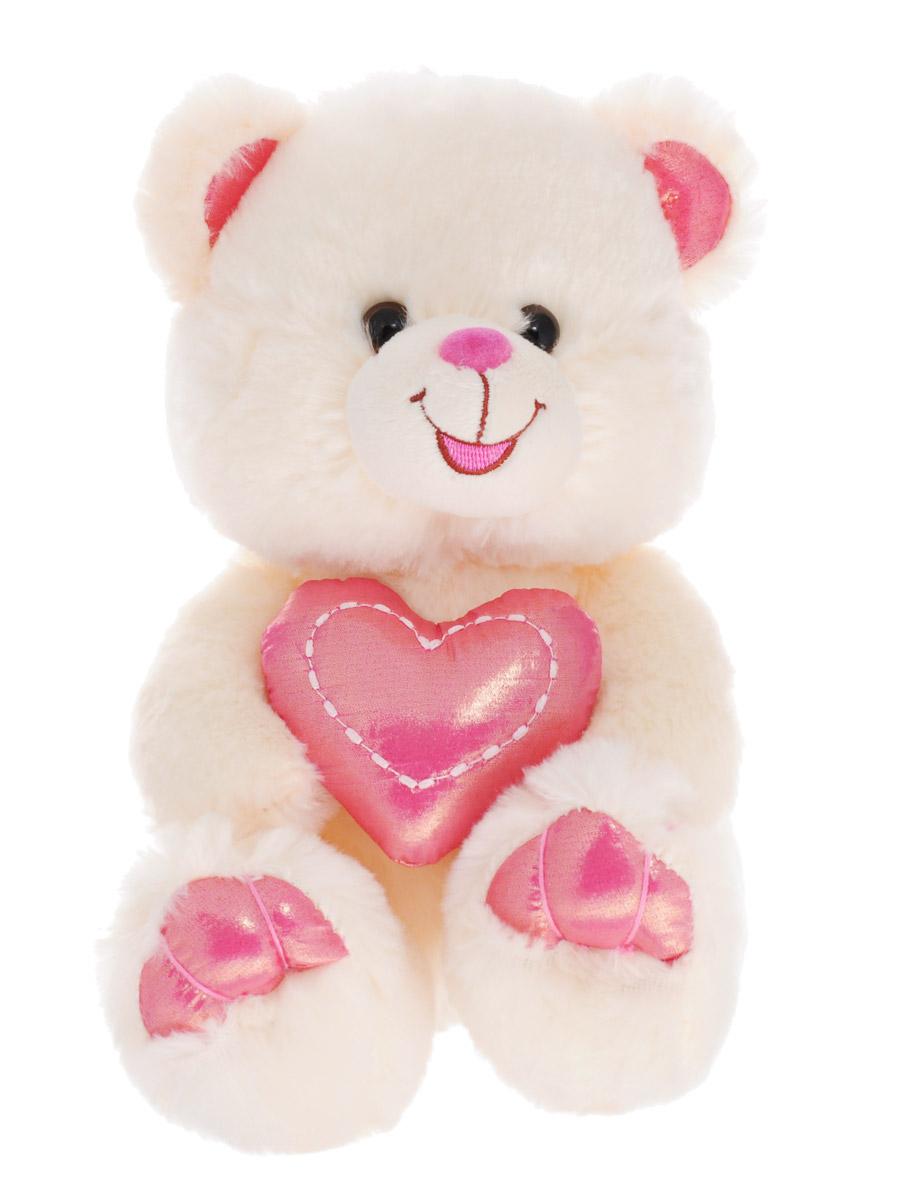 Lava Мягкая озвученная игрушка Мишка с сердцем 20 смLF 999Мягкая озвученная игрушка Lava Мишка с сердцем станет поистине незабываемым подарком для каждого ребенка. Мягкая игрушка ассоциируется с радостью и весельем. Забавная, добрая игрушка будет радовать малыша с самого рождения. Игрушка выполнена в виде очаровательного медведя, держащего в лапках блестящее розовое сердце. Нажав медвежонку на живот, вы услышите песенку с признанием в любви. Мягкие игрушки помогают познавать окружающий мир через тактильные ощущения, знакомят с животным миром нашей планеты, формируют цветовосприятие и способствуют концентрации внимания. Мягкие игрушки торговой марки Lava станут достойным выбором для вашего ребенка! Работает игрушка от незаменяемых батареек.
